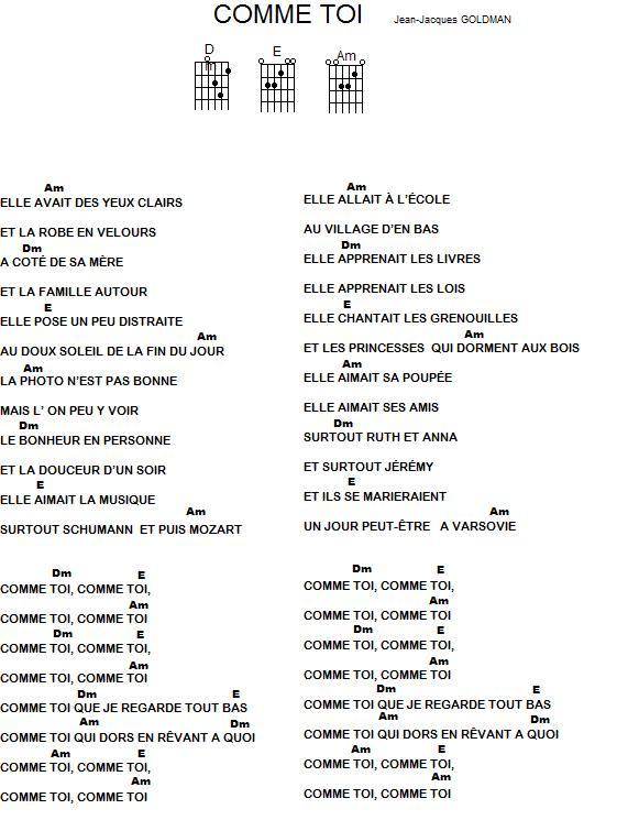 Jean-Jacques Goldman - Encore Un Matin